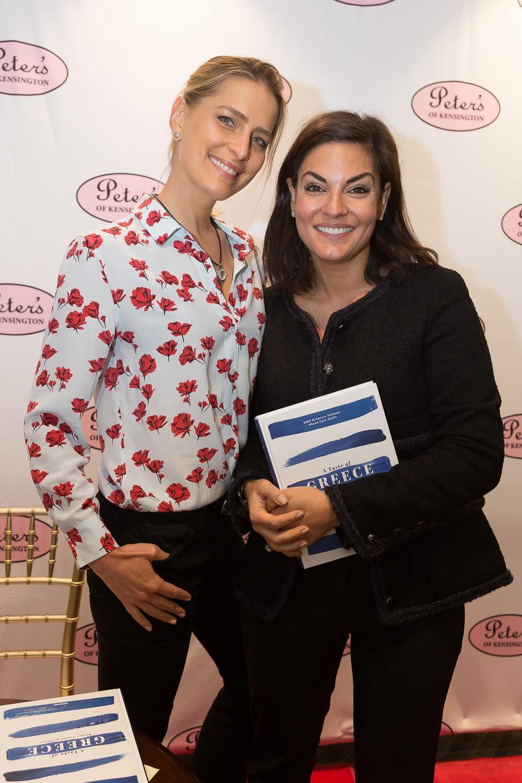 Nicole O'Neil with Princess Tatiana of Greece