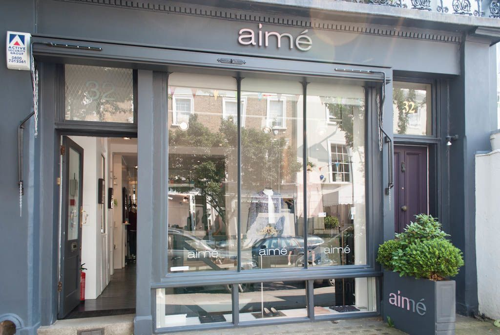 The Best Places to Shop in London - Aime London.