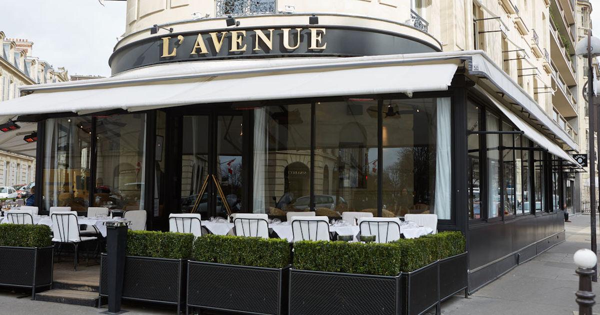24 Hours in Paris - Lunch at L'Avenue Paris