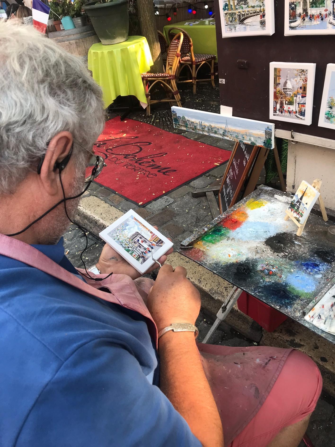 Painters at Montmarte Paris Place du Tertre.jpg