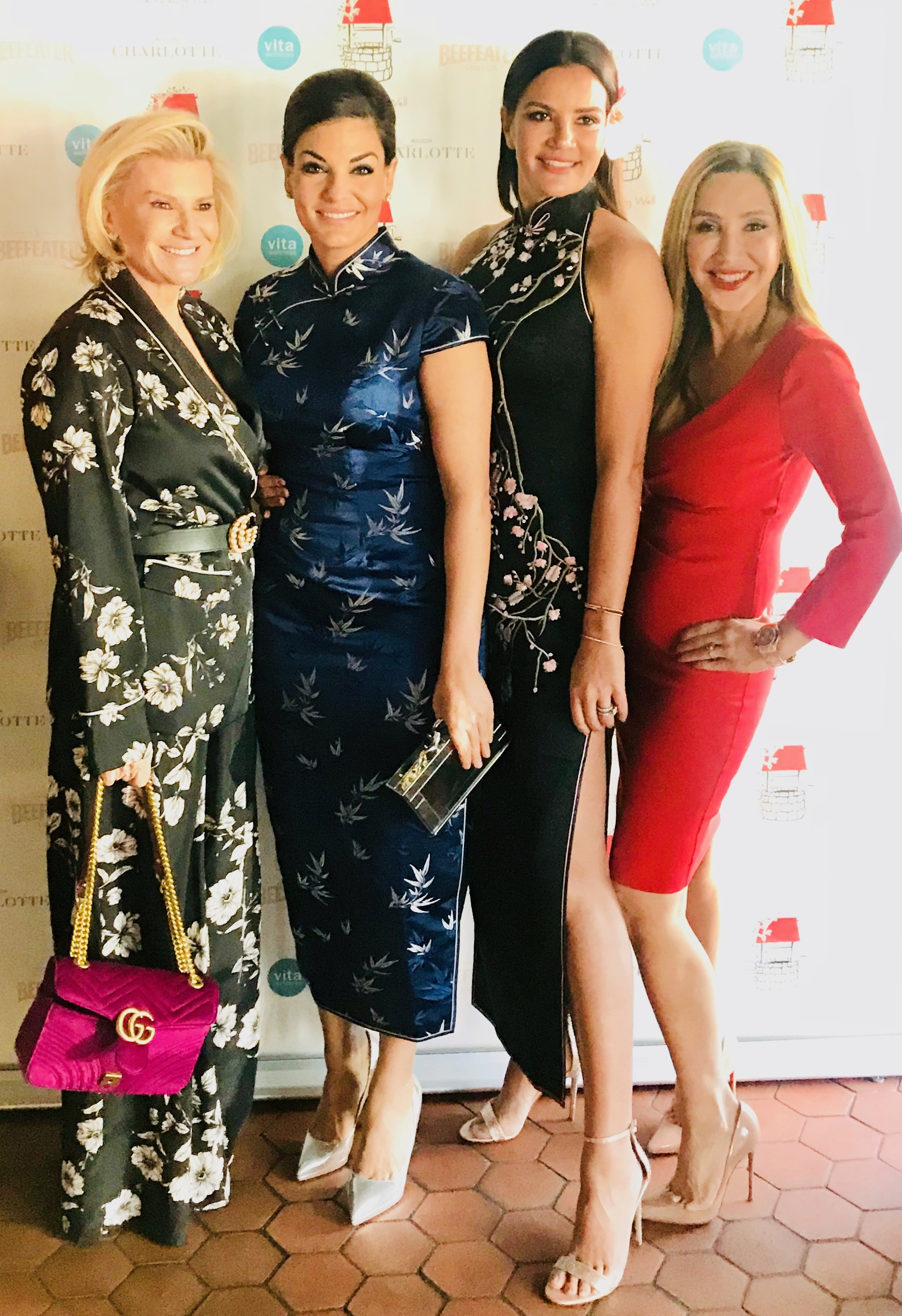 Real Housewives of Sydney Victoria Rees, Nicole O'Neil, Krissy Marsh and Matty Samaei