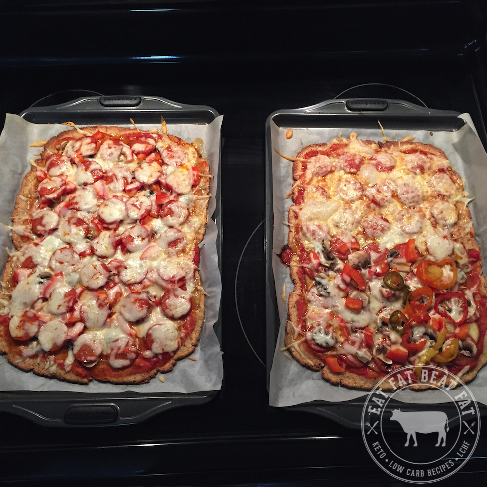Keto Low-Carb Pizza Recipe