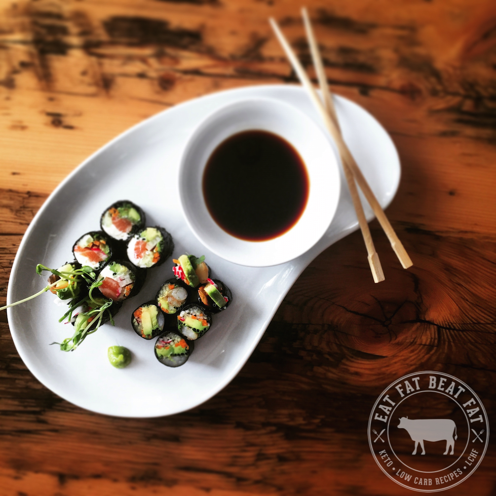 Keto Low Carb Sushi