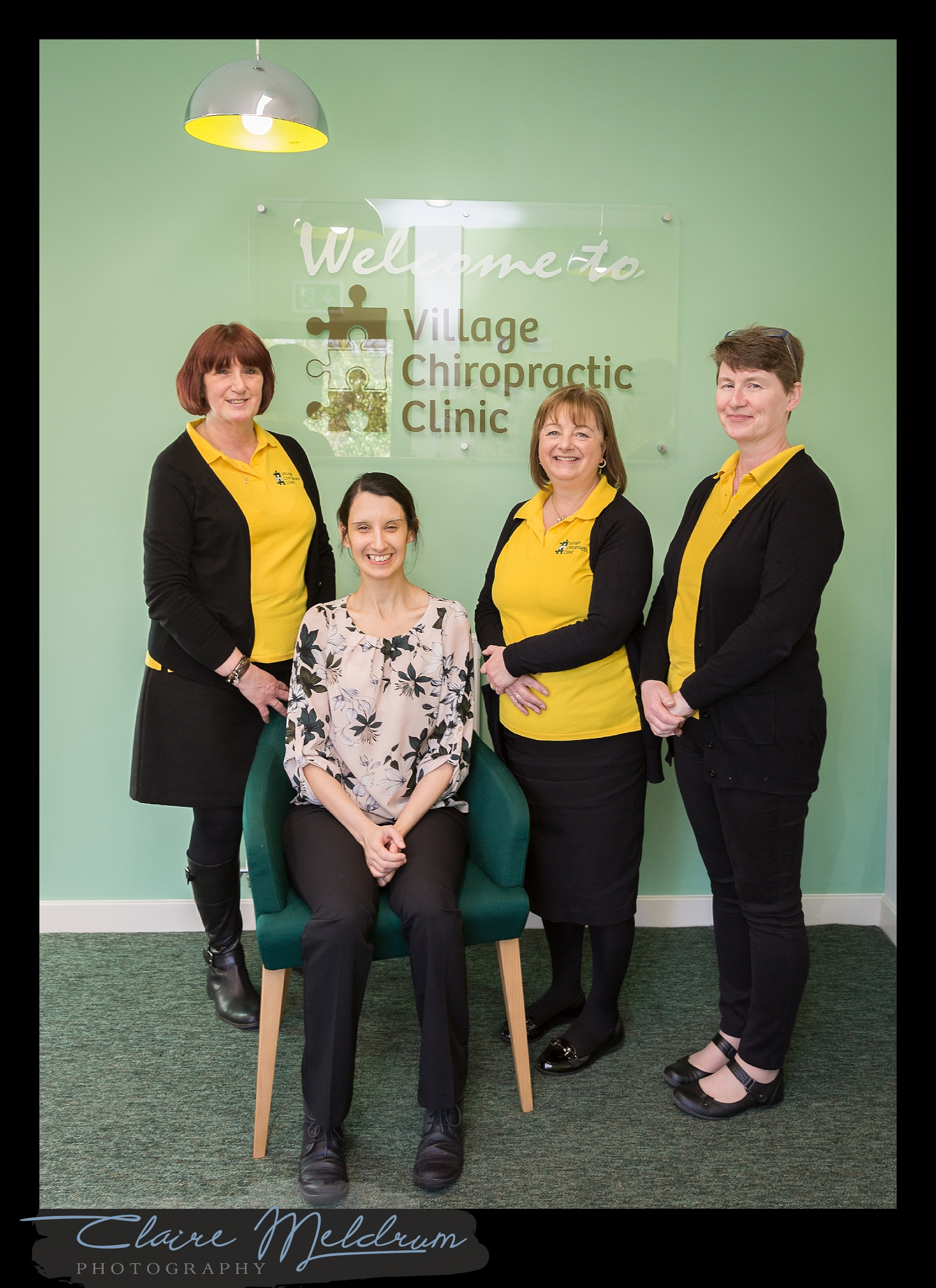 Jenny and the Village Chiropractic team.
