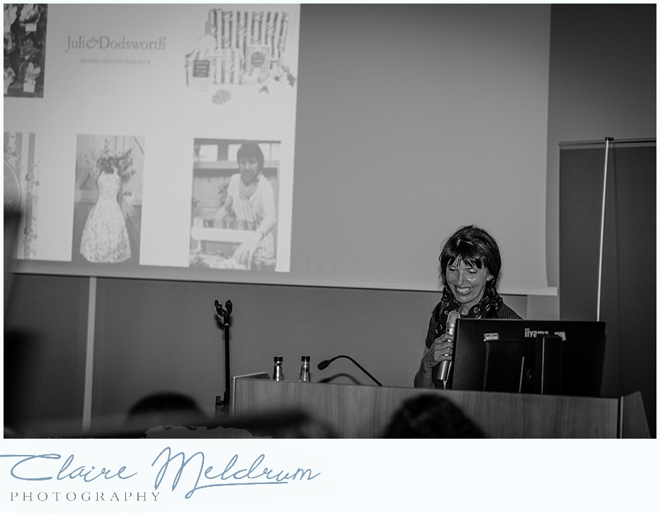 WiRE Conference 2017 - Julia Dodsworth photographed by Claire Meldrum Photography