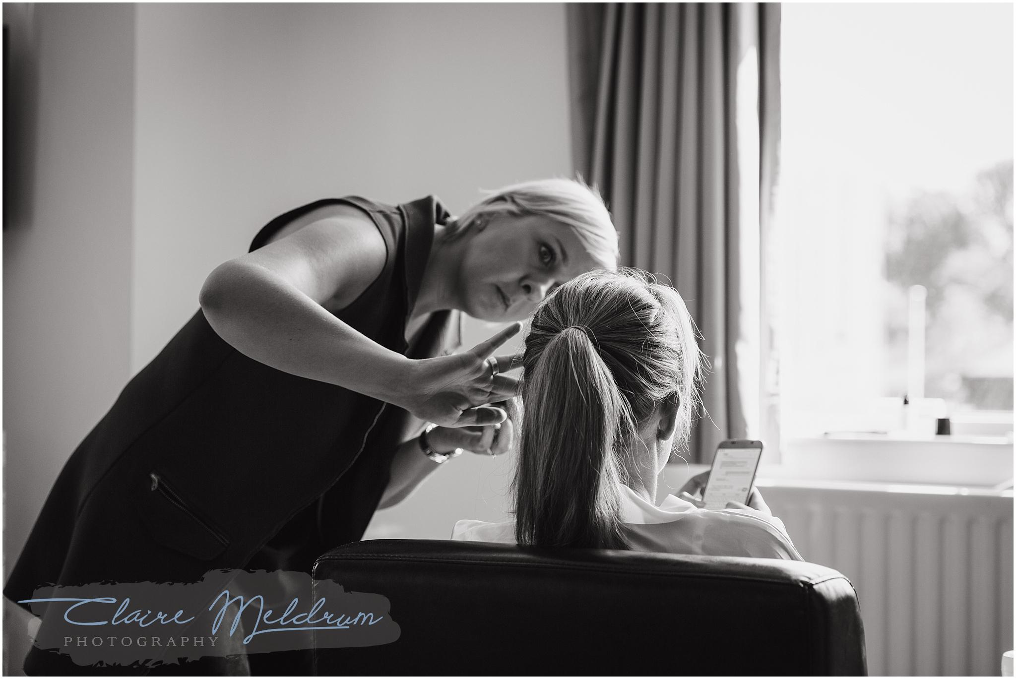 Claire Meldrum Photography bridal prep