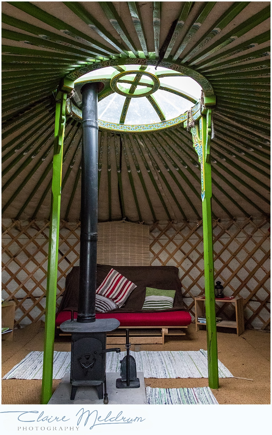Westwood Yurts Claire Meldrum Photography