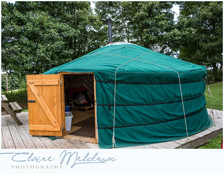 Westwood Yurts, Claire Meldrum Photography