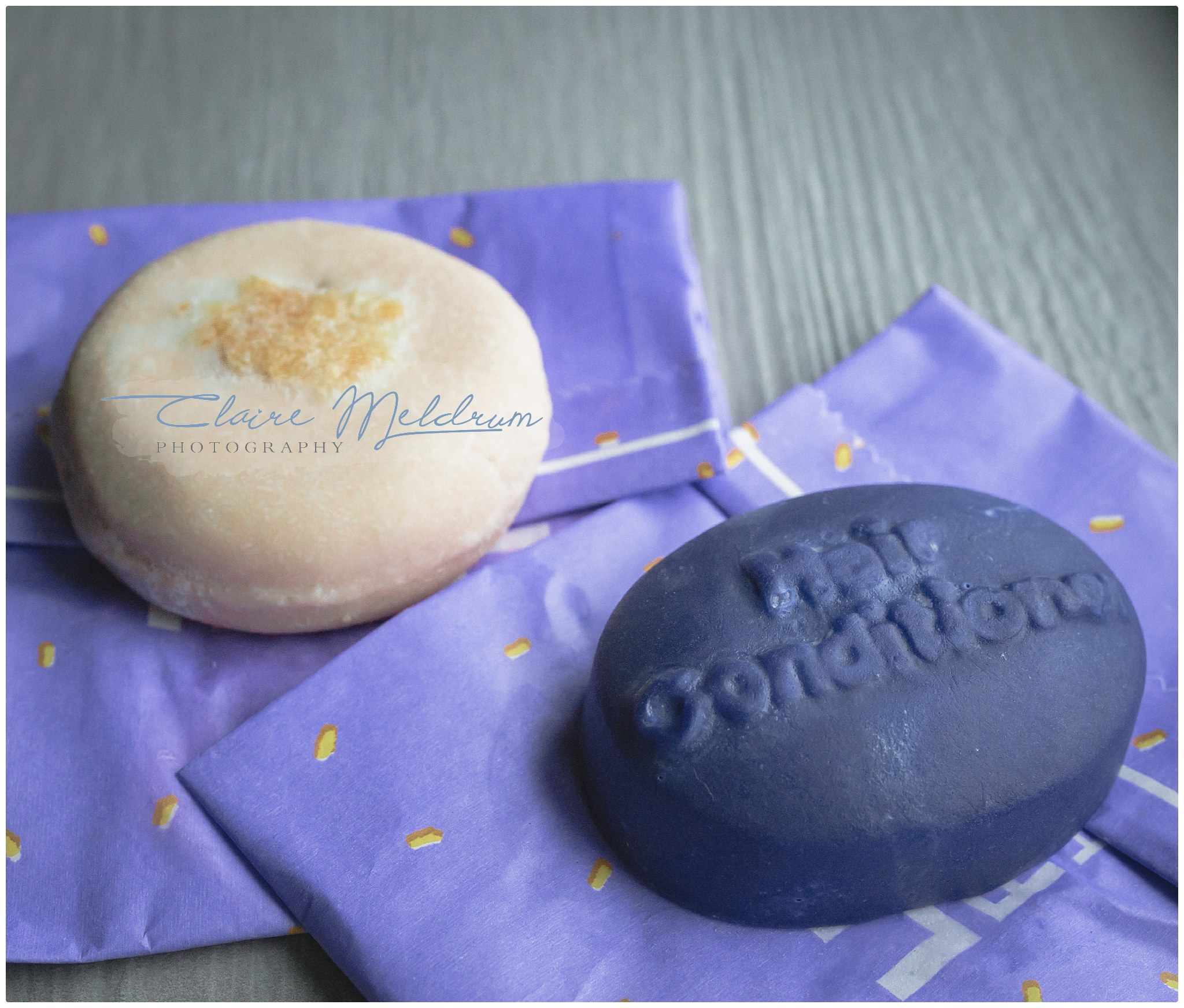 Lush shampoo bar review. Claire Meldrum Photography
