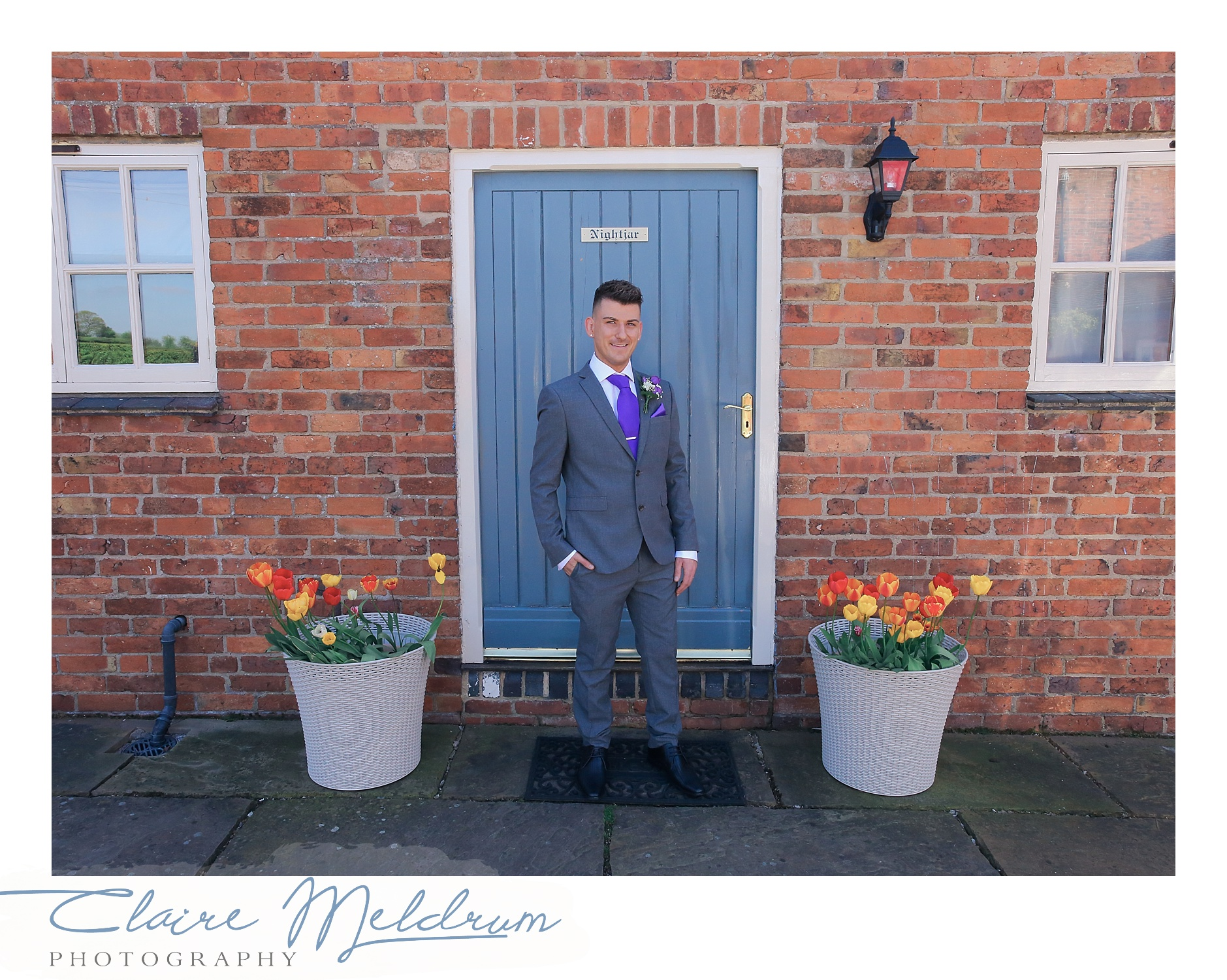 Two Grooms, Claire Meldrum Photography