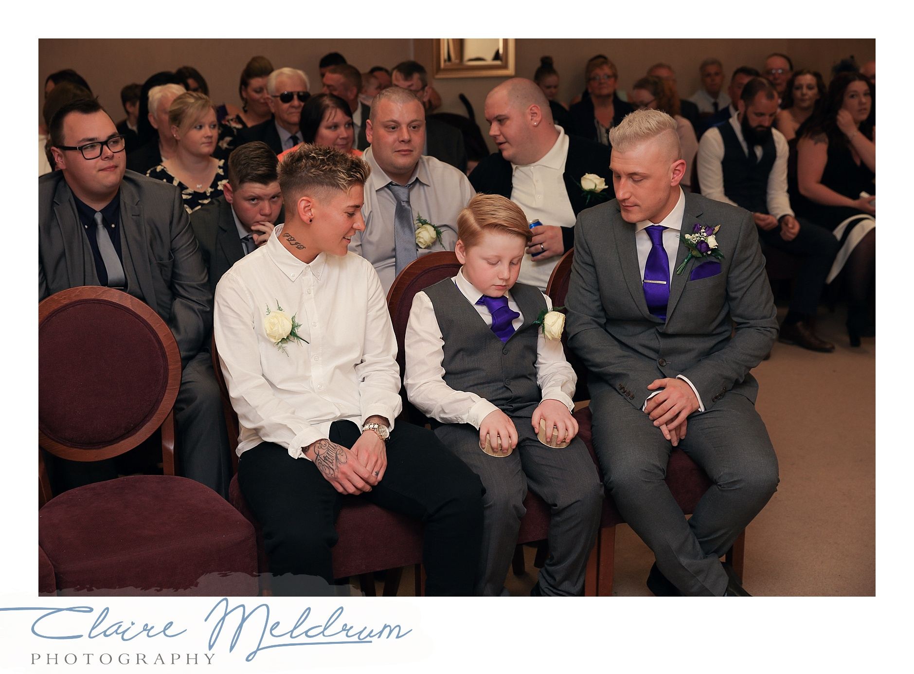 Gay wedding Claire Meldrum Photography