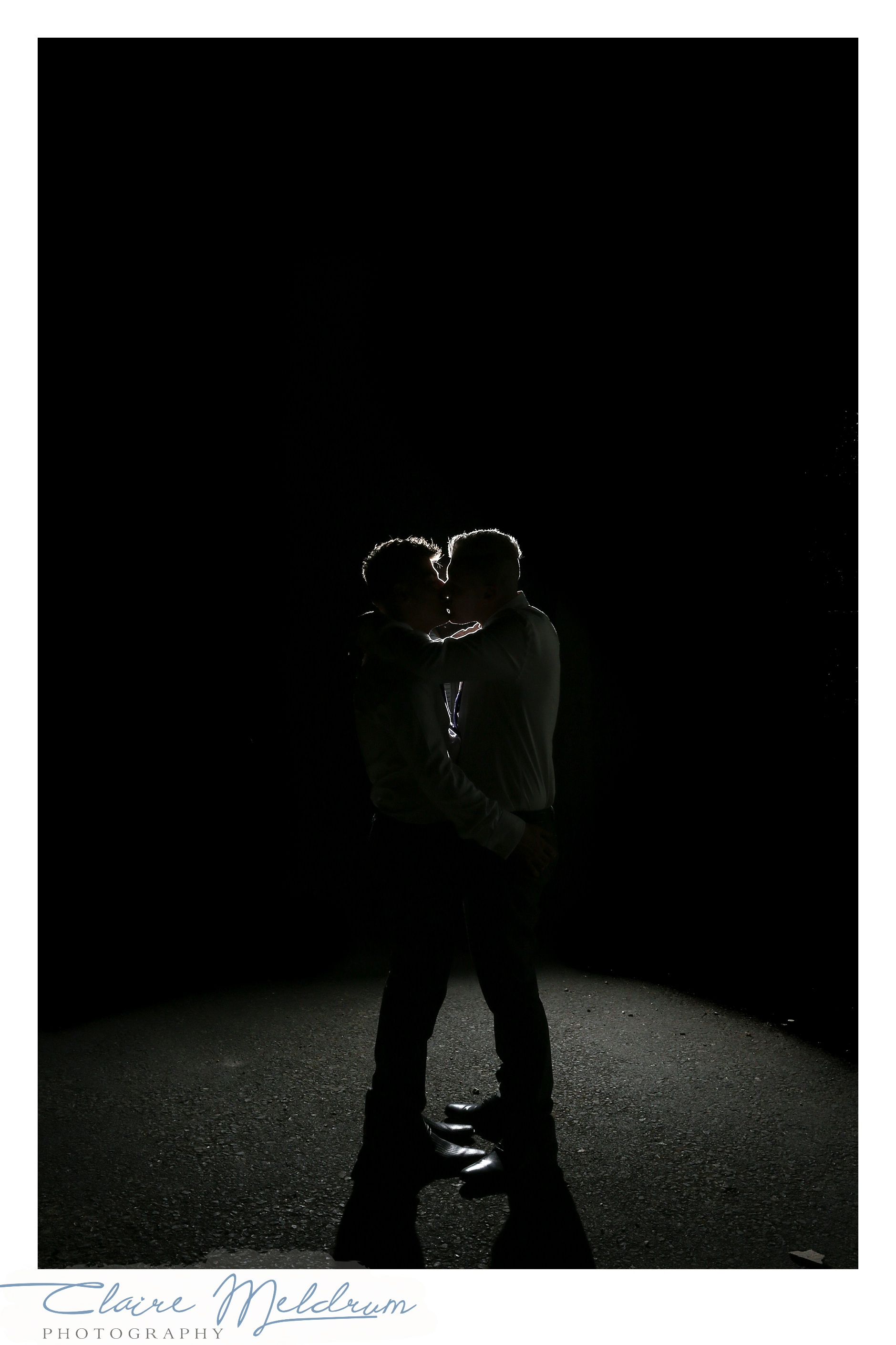 Evening shot, silhouette Claire Meldrum Photography