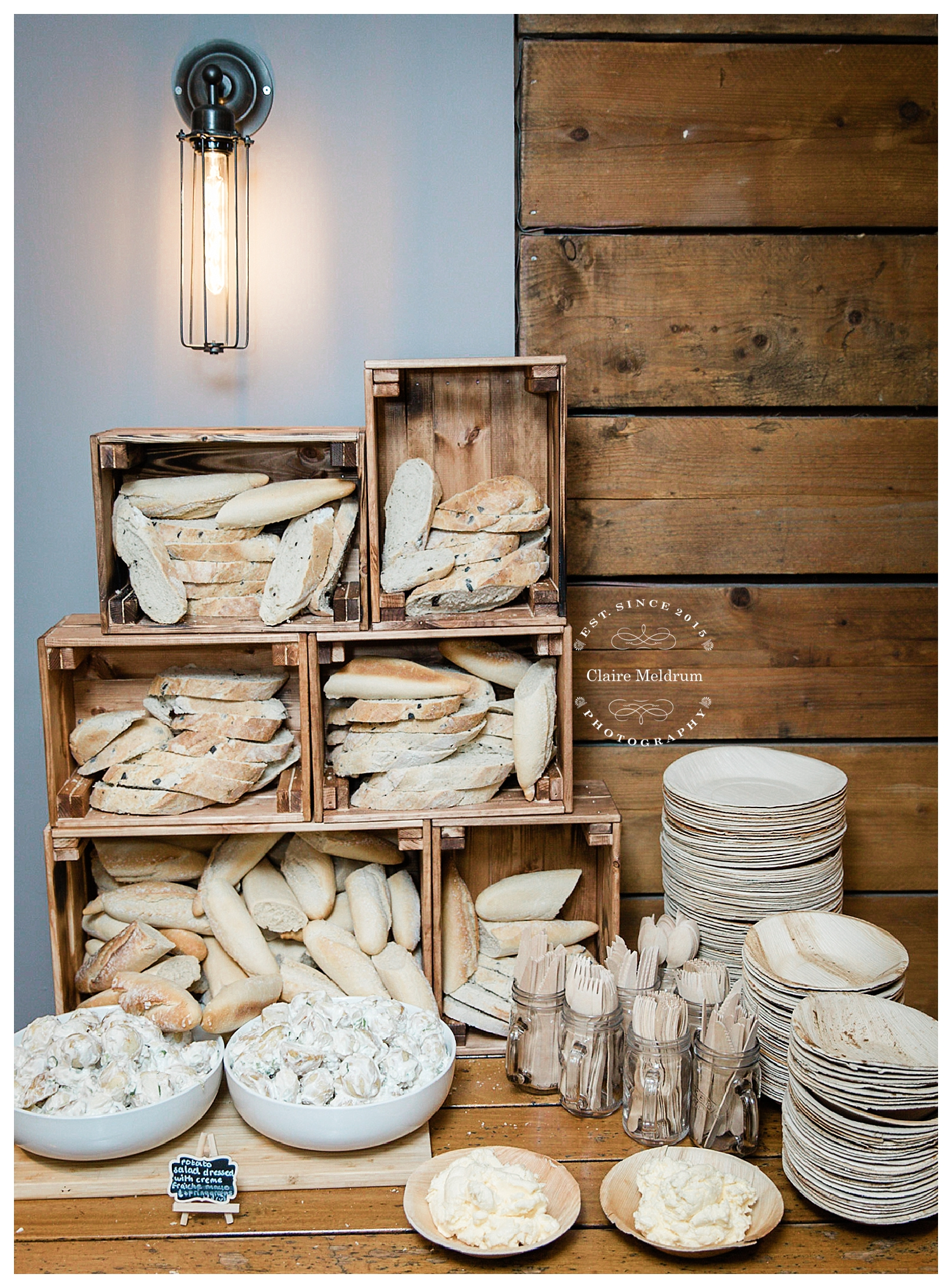 Bread Wall, Bear Coffee, Claire Meldrum Photography