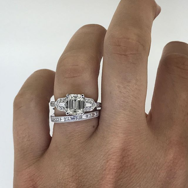 Helping our favorite client pick a matching band. What do you think?!
