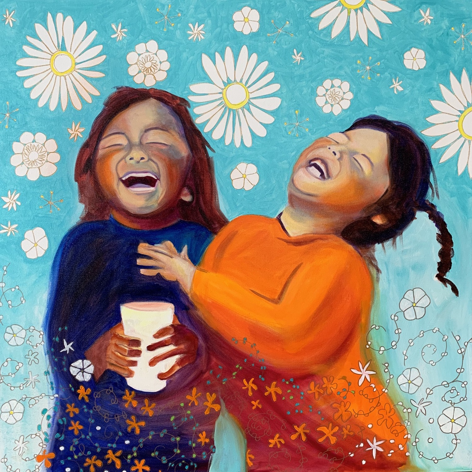 "Joy! 36"" x 36""  Gallery Mount Print $600 (plus S/H)"