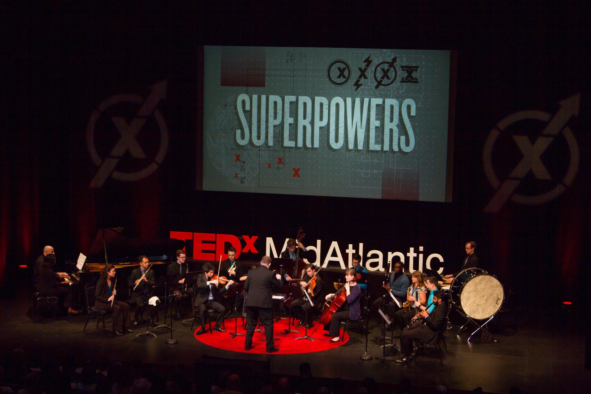 Jordan Smith Conducts SNO at TEDx