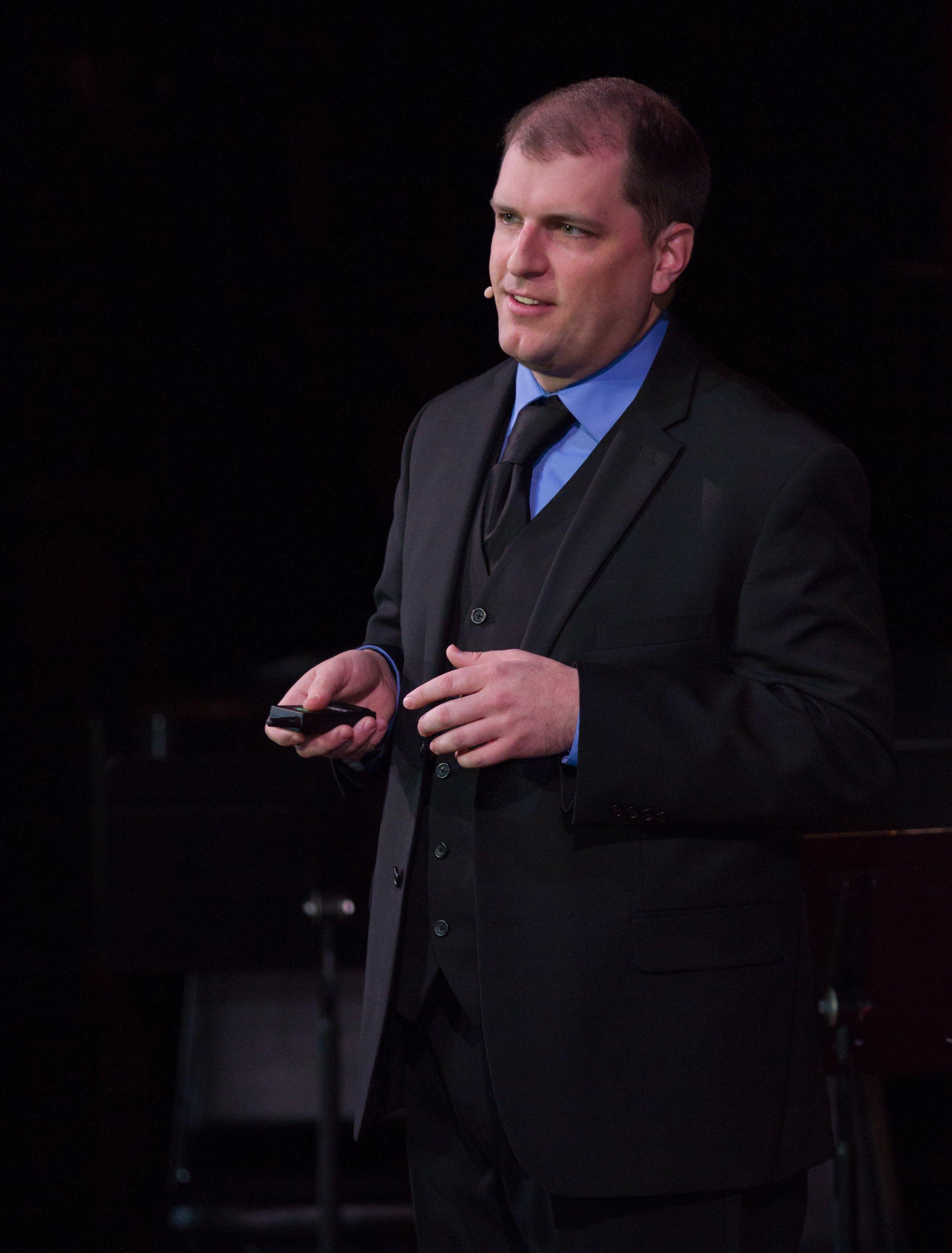 Jordan talks Classical at TEDx