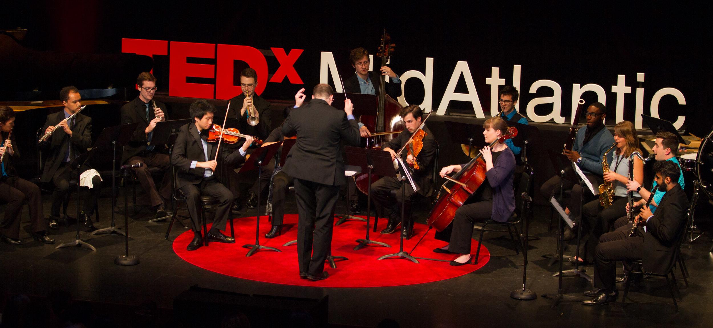 Jordan Conducts SNO at TEDxMidAtlantic 2017