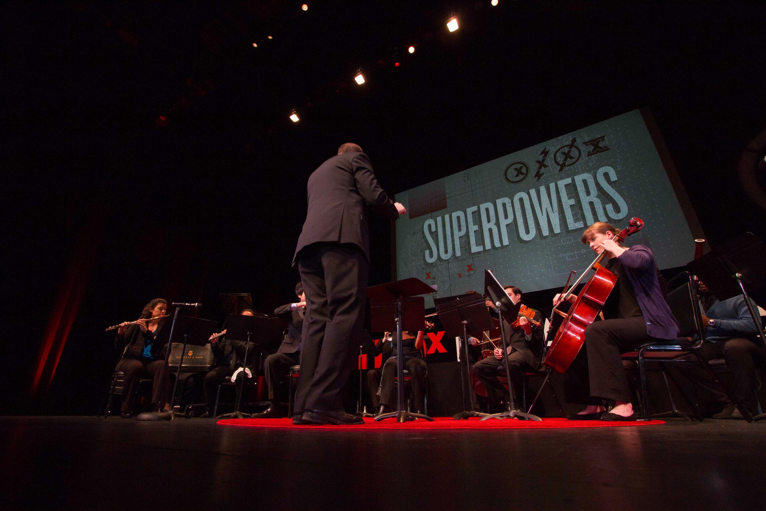 Jordan Randall Smith Conducts SNO at TEDx