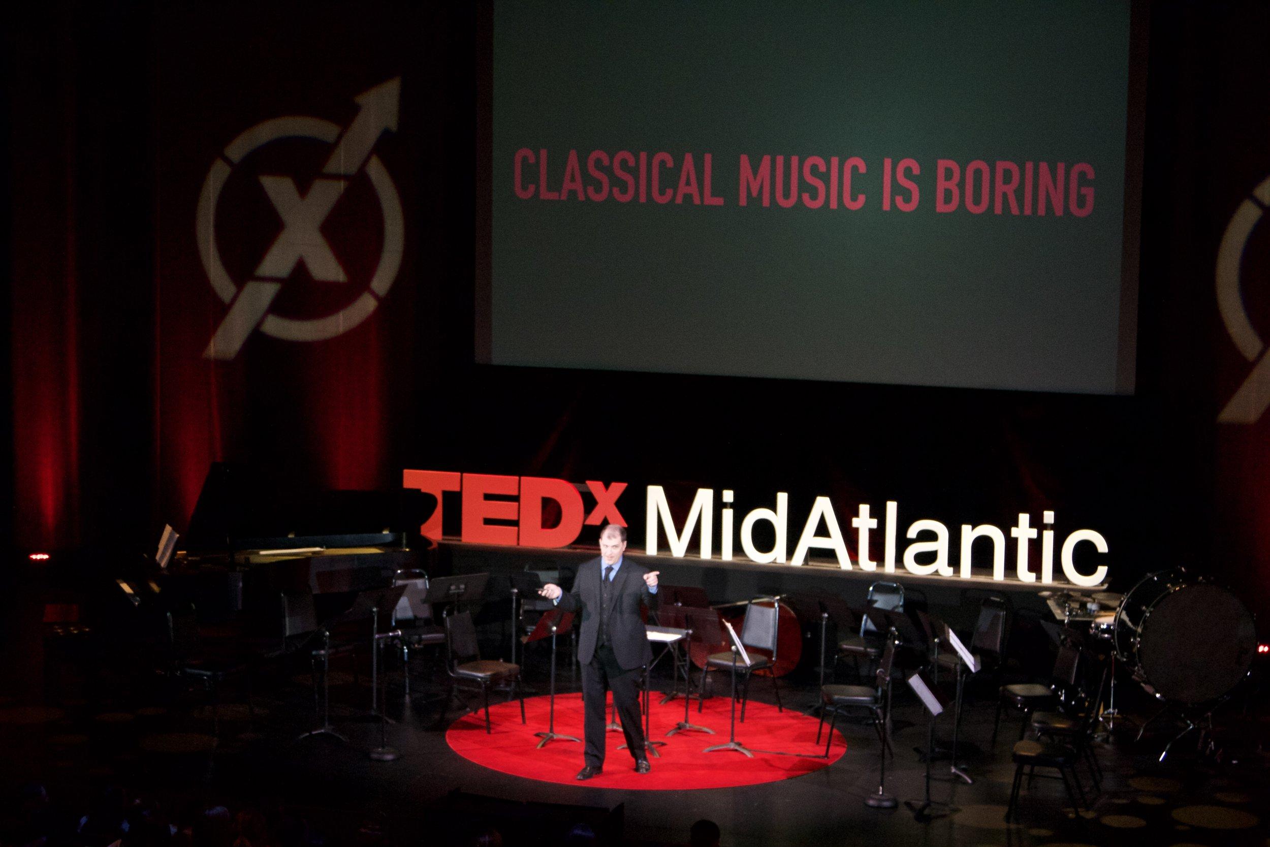 Jordan Randall Smith speaks at TEDxMidAtlantic 2017 in Washington, D.C.