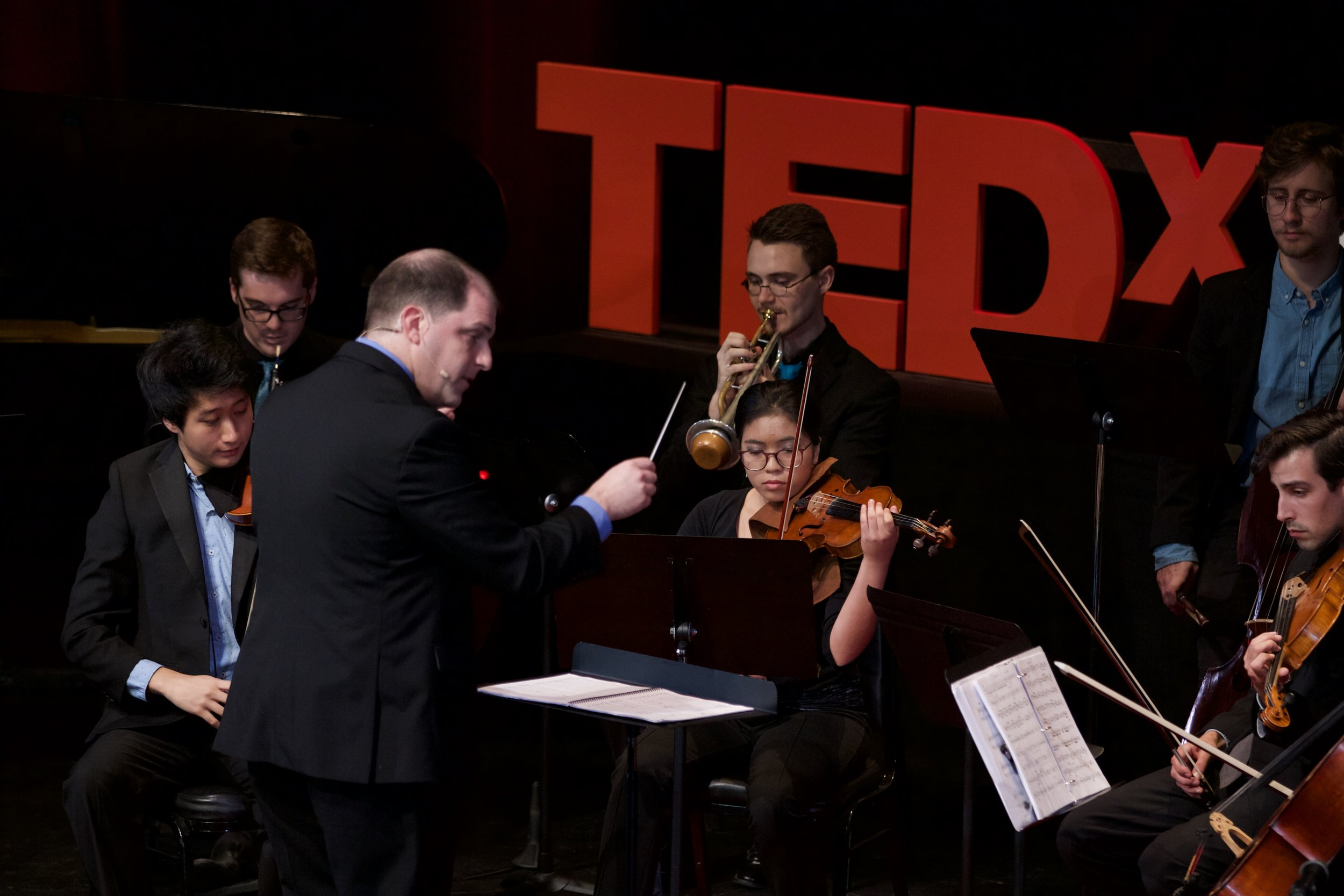 Symphony Number One performs at TEDxMidAtlantic 2017