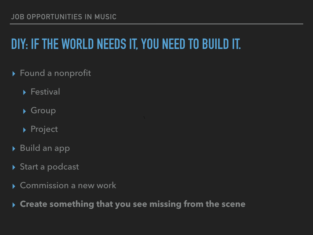 DIY: If The World needs it, YOU Need to Build it.