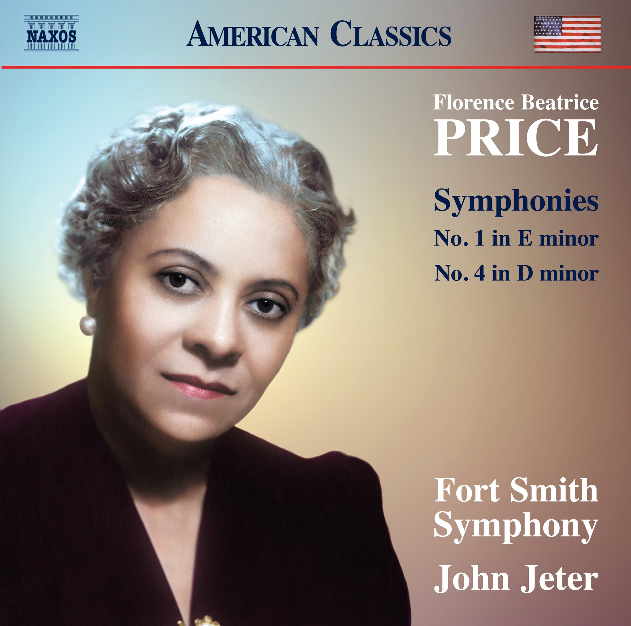 Cover art for the upcoming recording of Price's 1st and 4th Symphonies.