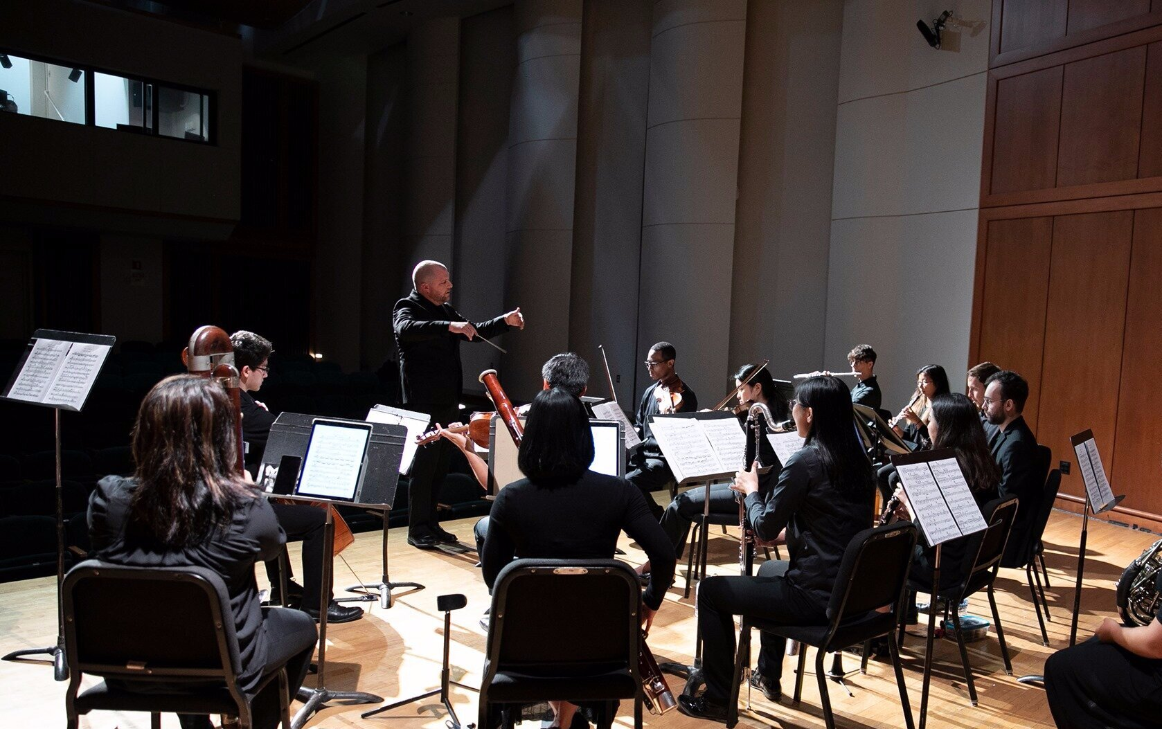 Symphony Number One performs at Morgan State University. Photo Credit: Bruce Boyajian