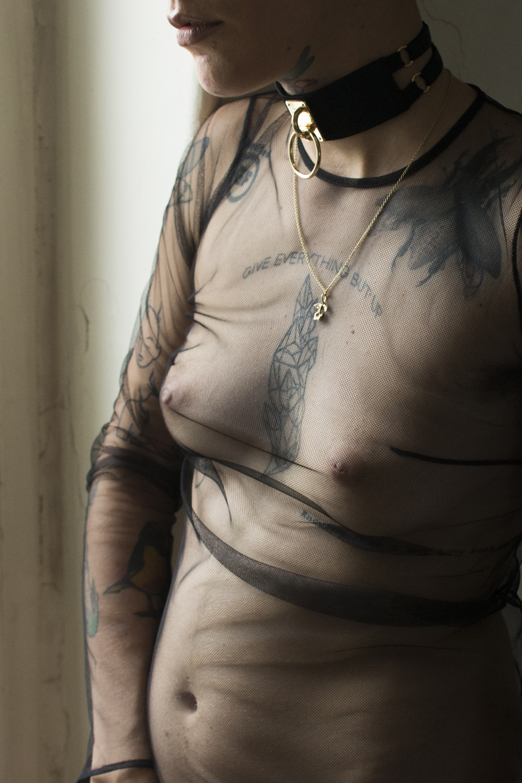 murmur clothing choker teddy gold straps_22.JPG