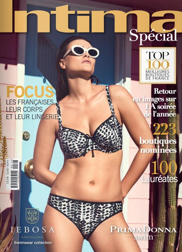 Couverture Intima Magazine, Avril 2019