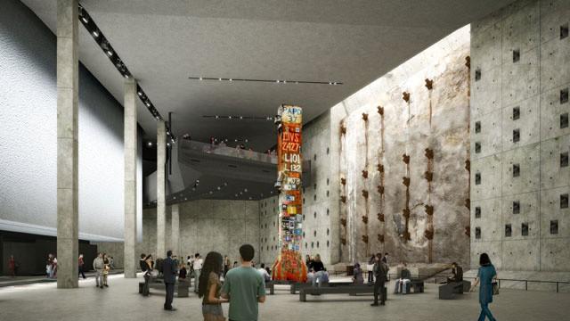 Slurry Wall @ 9/11 Memorial