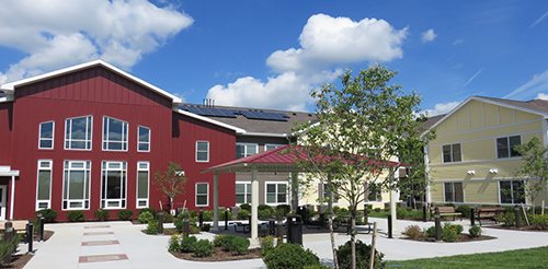 Office of Mental Health (OMH) Example - Trolley Station Apartments Opens in Canandaigua  - The project was funded by NYS HCR with MRT capital and NYS HFA with bonds and tax credits. The project was initiated with help from a predevelopment grant from NYS OMH, and on site services are funded by NYS OMH.