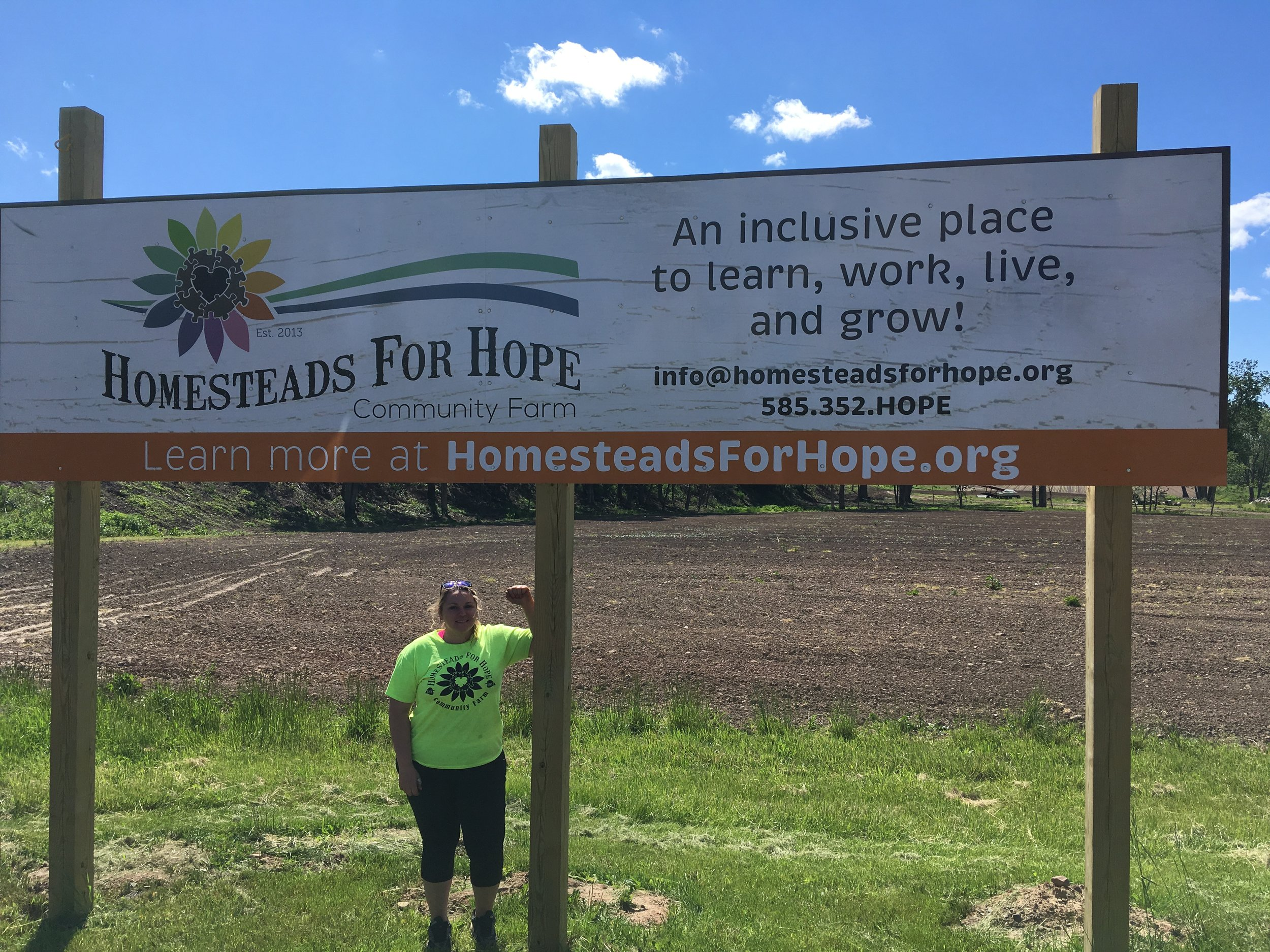 Jenny Brongo @ Homesteads for Hope