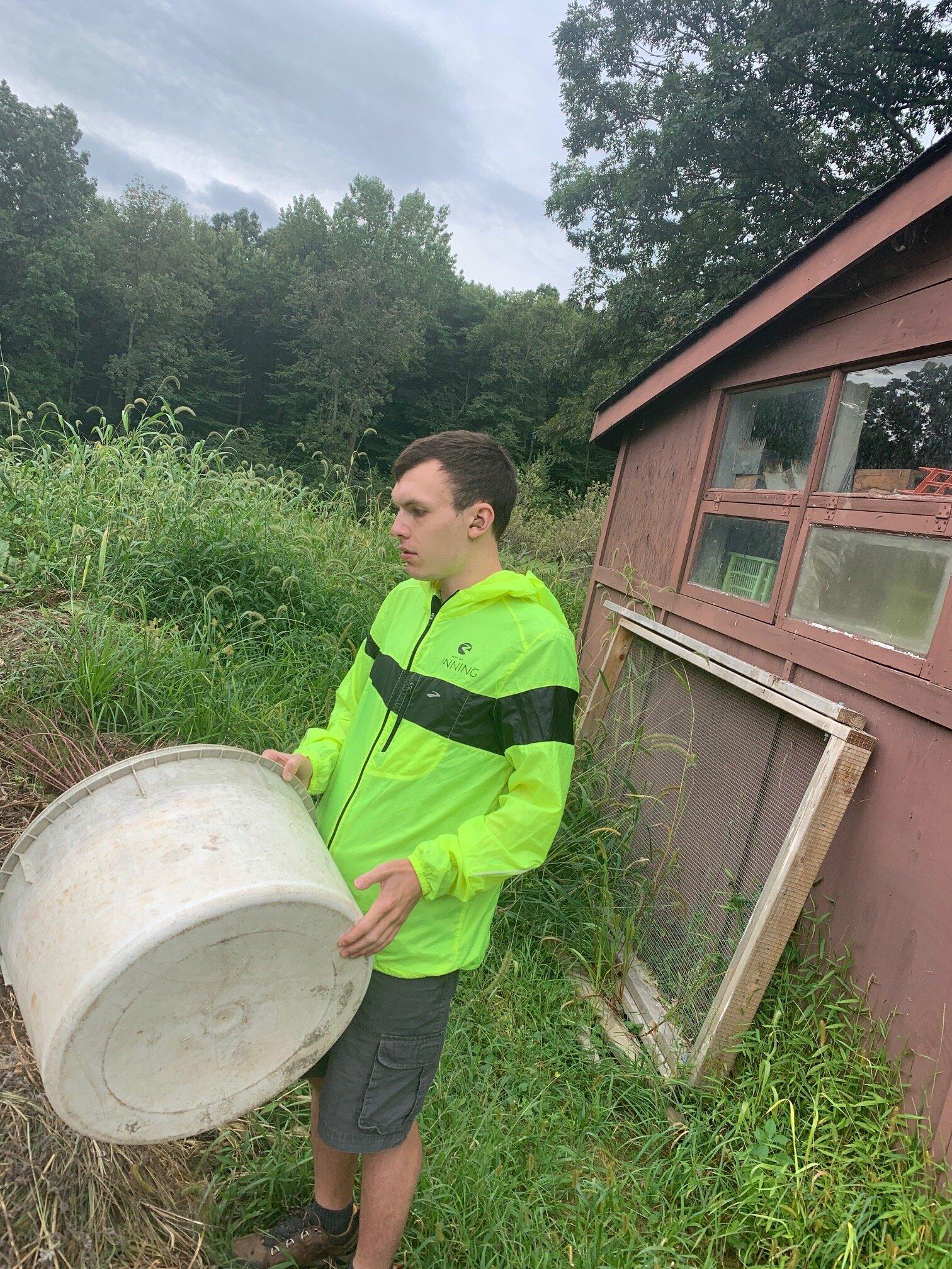 Dustin the Biodynamic Farmer at Endeavor 21+ in Rockland County, NY