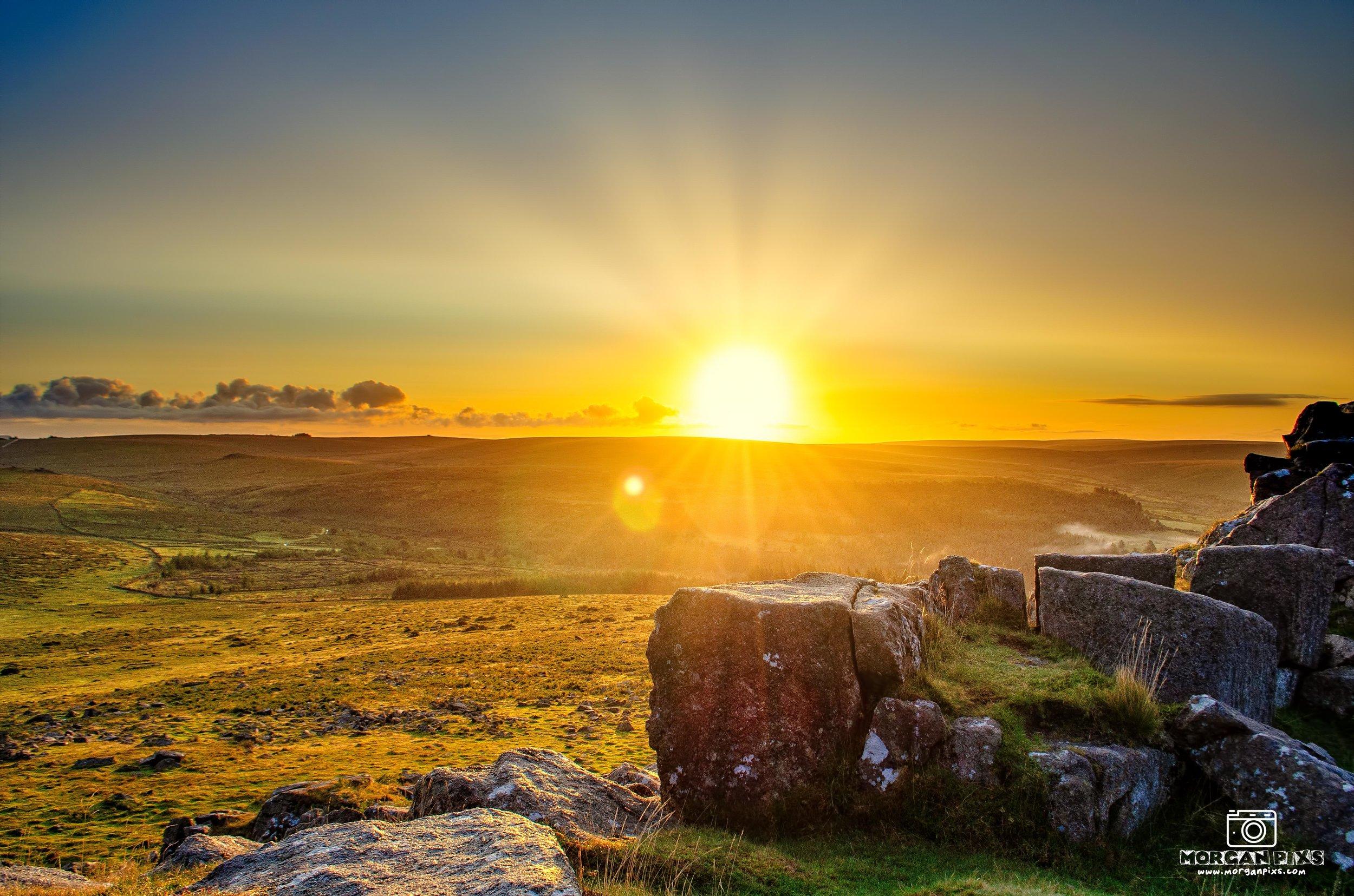 Sharpitor Sunrise