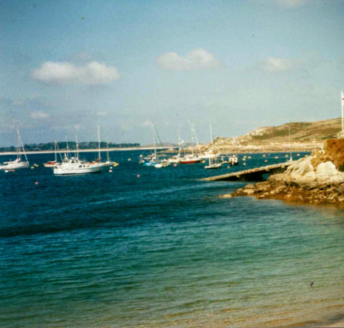 """""""Wow this an early Christmas present I wasn't expecting. Will be adding my winnings to next years holiday fund. I've attached a photo that I must have taken about 20 years ago but it still has to be one of my favourite views in the world. While many things have changed in those 20 years Scilly is still the most fantastic place to be. Not only am I thrilled with this win but my wife is over the moon and I'm sure she will help me plan how it will be spent !!! Happy to continue supporting the Radio Scilly and its great work. """""""