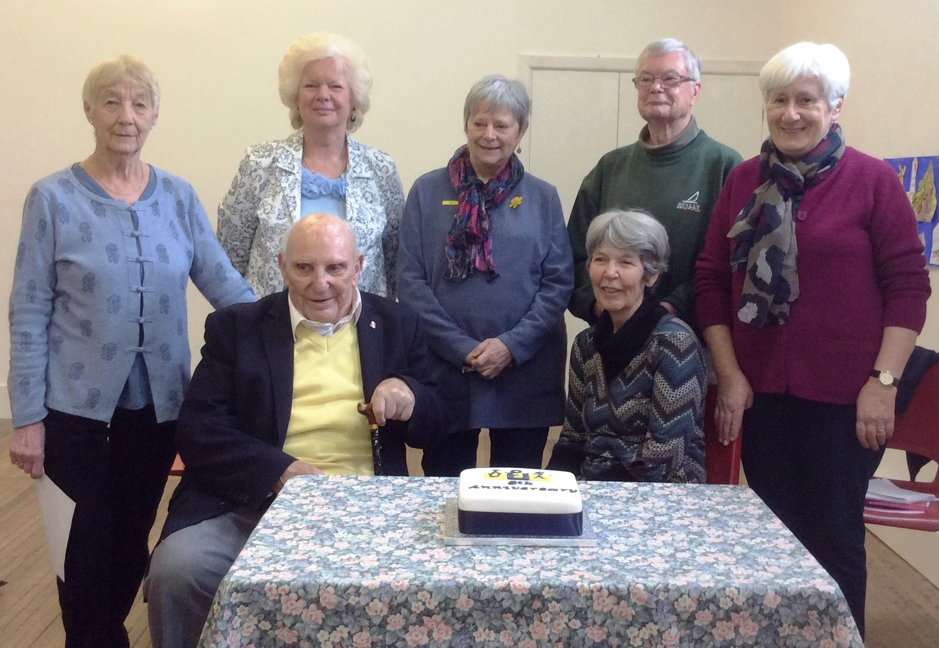 Members of the Isles of Scilly U3A organisation.