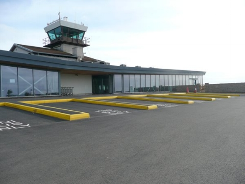 The Airport on St Mary's. Image courtesy of the Council of the Isles of Scilly.