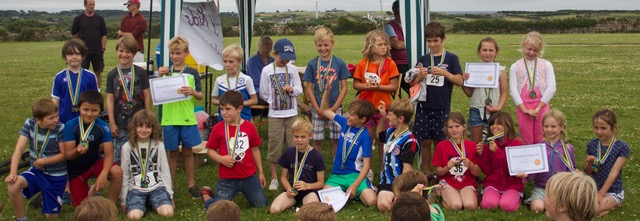 Junior Triathlon bigger and better this year. Image courtesy of Sonia Fletcher.