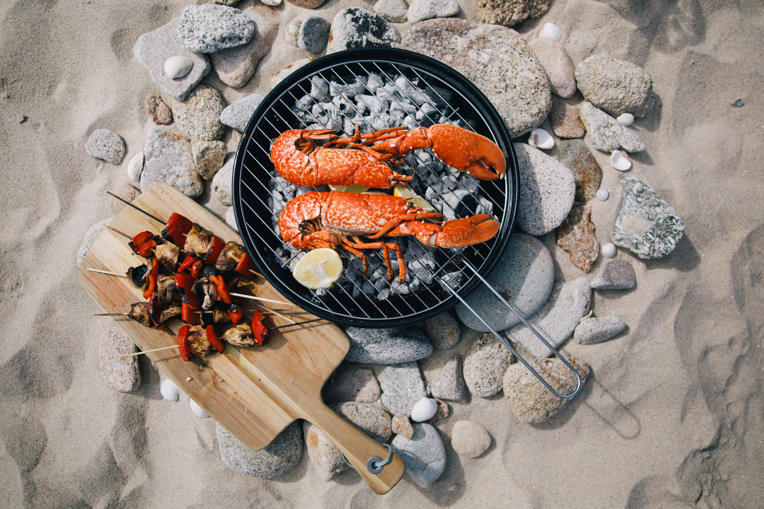A sizzling seafood BBQ on Scilly - nothing better! Images courtesy of Visit Isles of Scilly.