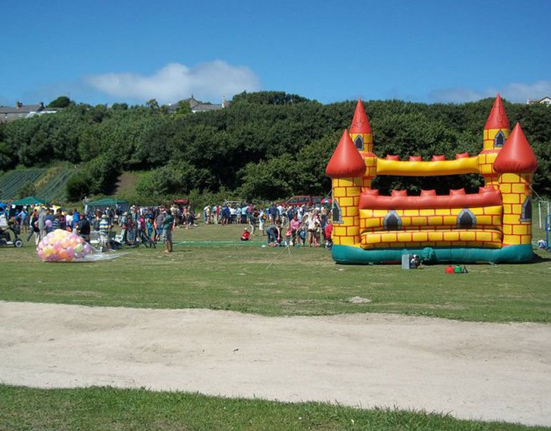 St Martin's Fete in full swing. Image courtesy of the St Martin's Fete Facebook Page.
