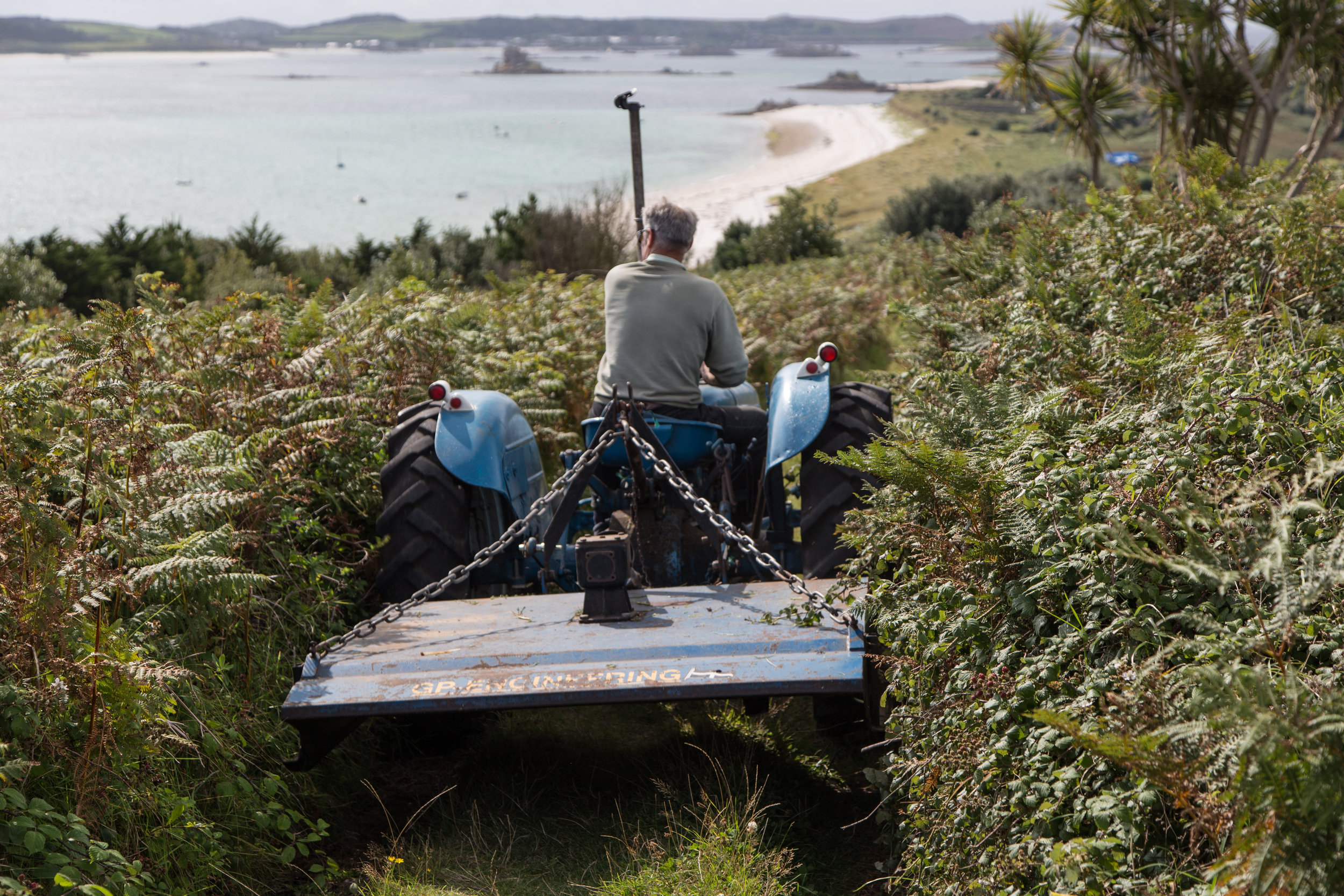 """Mark Smith, an IT Manager for IBM who lives in Leicestershire, took the photo entitled """"The Daily Commute"""" on his family holiday to the islands this summer."""