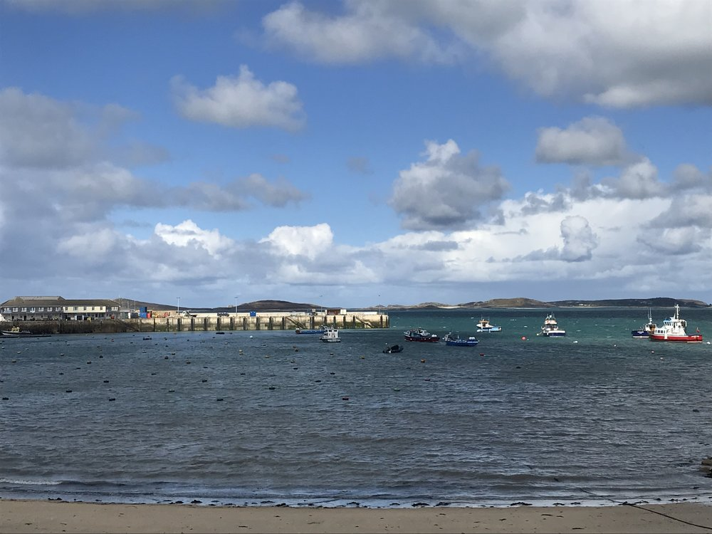 St Mary's Harbour from the Strand.