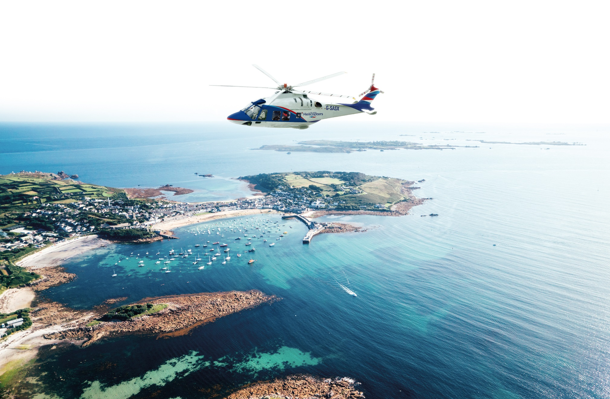 A brand new 10-seater AW169 aircraft will be fly from Land's End Airport to the Isles of Scilly up to eight times a day, six days a week when the service launches on the 21st May.
