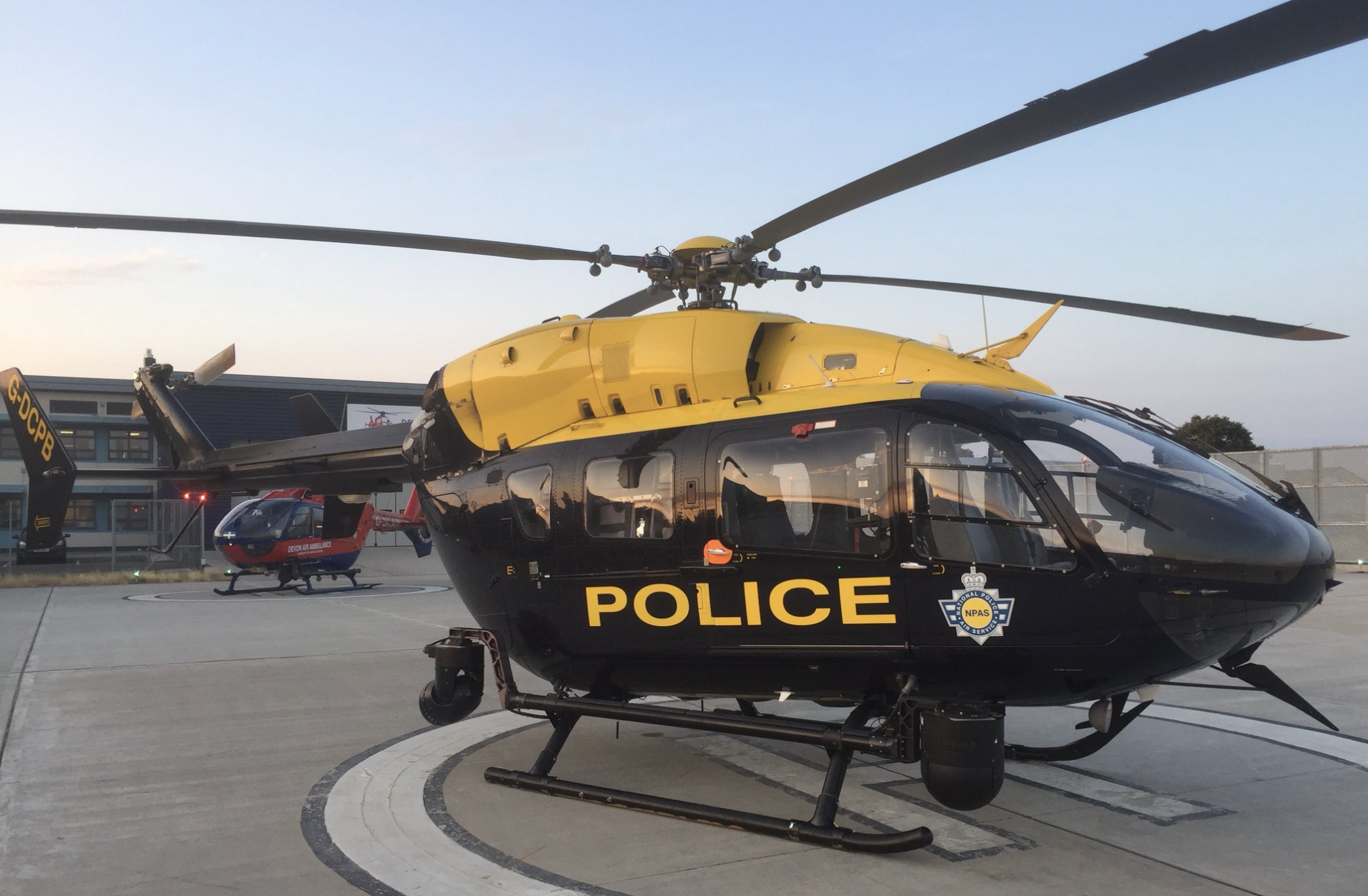 Image courtesy of Devon and Cornwall Police and the National Police Air Service (NPAS).