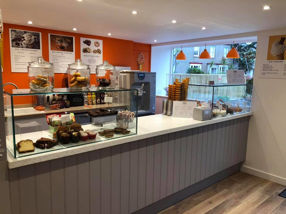 Miller's ice cream parlour has recently opened on St Mary's. The parlour is situated where the islands' former sports shop - Sports Mode use to be.