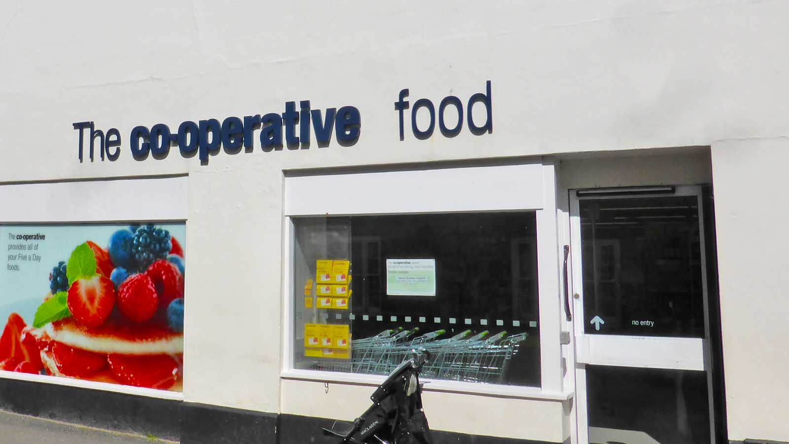 The Co-op in Hugh Town on St Mary's.
