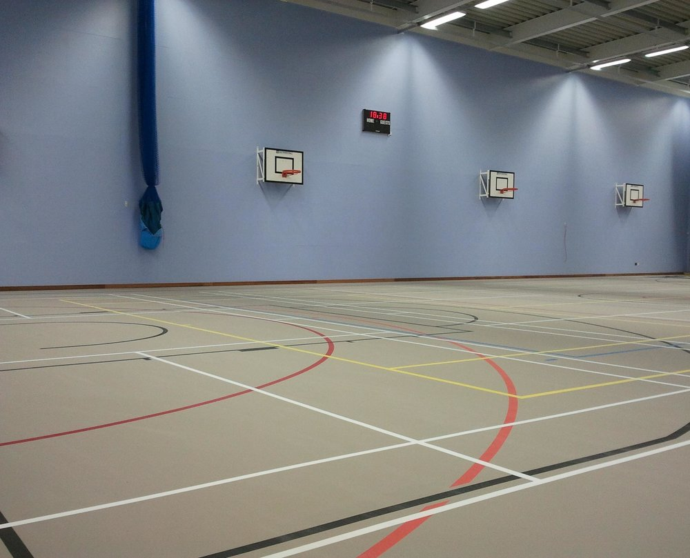 The Queen Elizabeth ll Community Sports Hall on St Mary's. Image courtesy of Active Scilly.