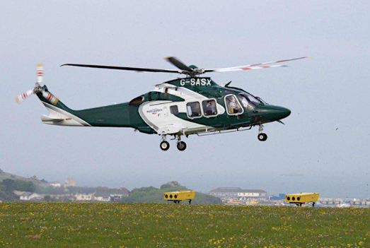 Island Helicopters was due to resume flying on April 6th having stopped for a winter break last November.