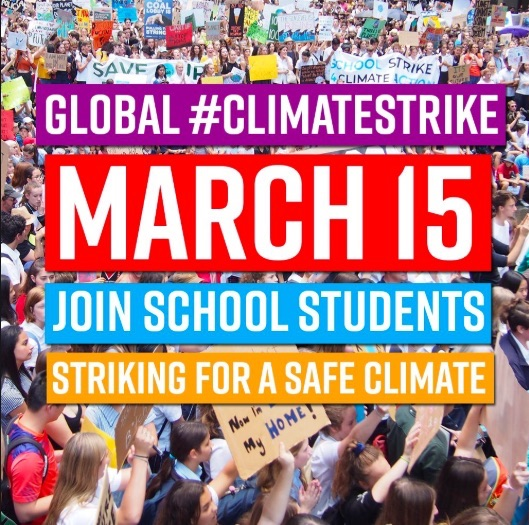 Young people in more than 90 countries will skip school on March 15th to demand politicians take action on the issue.